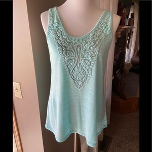 Maurice's Crocheted Embellished Tank